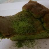 低GI値抹茶チーズケーキ作ってみました