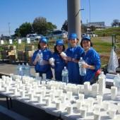 富山マラソン 給水ボランティア物語
